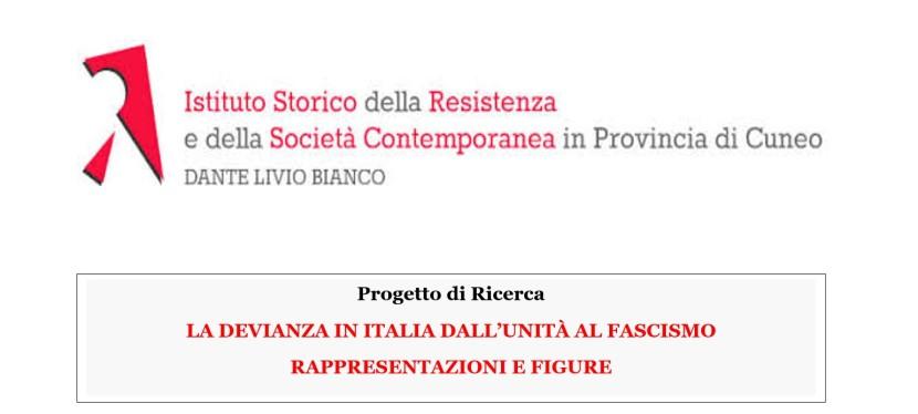 """Riunione, presso l'ISTORECN, del gruppo di ricerca sulla """"Storia della devianza in Italia dall'Unità alfascismo"""""""
